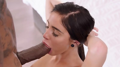 BLACKED Naomi Forest Cheats With Her Big black cock Dream