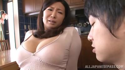 Splendid Sayuri Mikami Obeys A Blow-job And A Tit banging