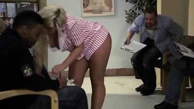 Sweet porn chick BiBi Jones gets banged hardcore in the hospital