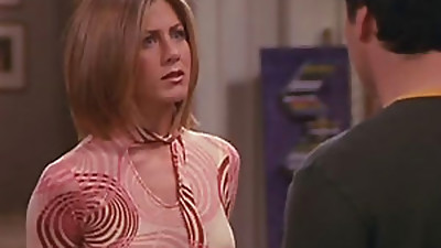 Jeniffer Aniston on her hit show Buddies wearing magnificent clothes