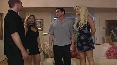 2 Ash-blonde Whores & 1 Stud.