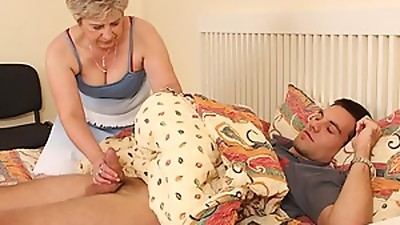 A girl caught her mother and husband banging in the bedroom