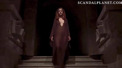 Dakota Johnson See Thru Puffies On ScandalPlanet.Com