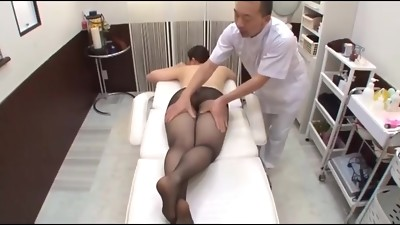 Rubdown Pantyhose Abuse