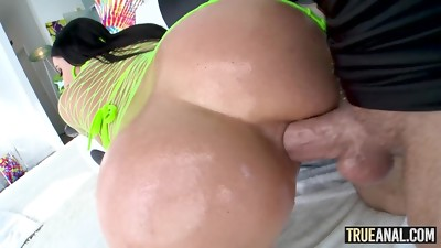 TRUE ANAL Angela White has her caboose drilled yet again