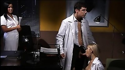 Good office with 2 Sexy Secretaries
