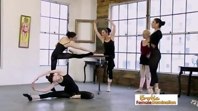 Ballet Teacher wants her schoolgirls