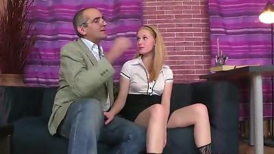 PN Sexy Student Enjoys A Good Fuckin Lesson !