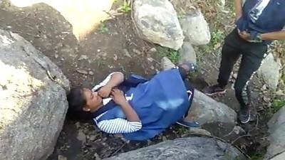 Caught Village Paki Couples Outdoor Fucking